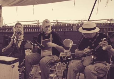Summertime Jam & Good Times on the Ship Stage at Yorktown Folk Fest.