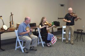 CBSB at Yorktown Victory Center performing the Great American Sing-along for July 4, 2015